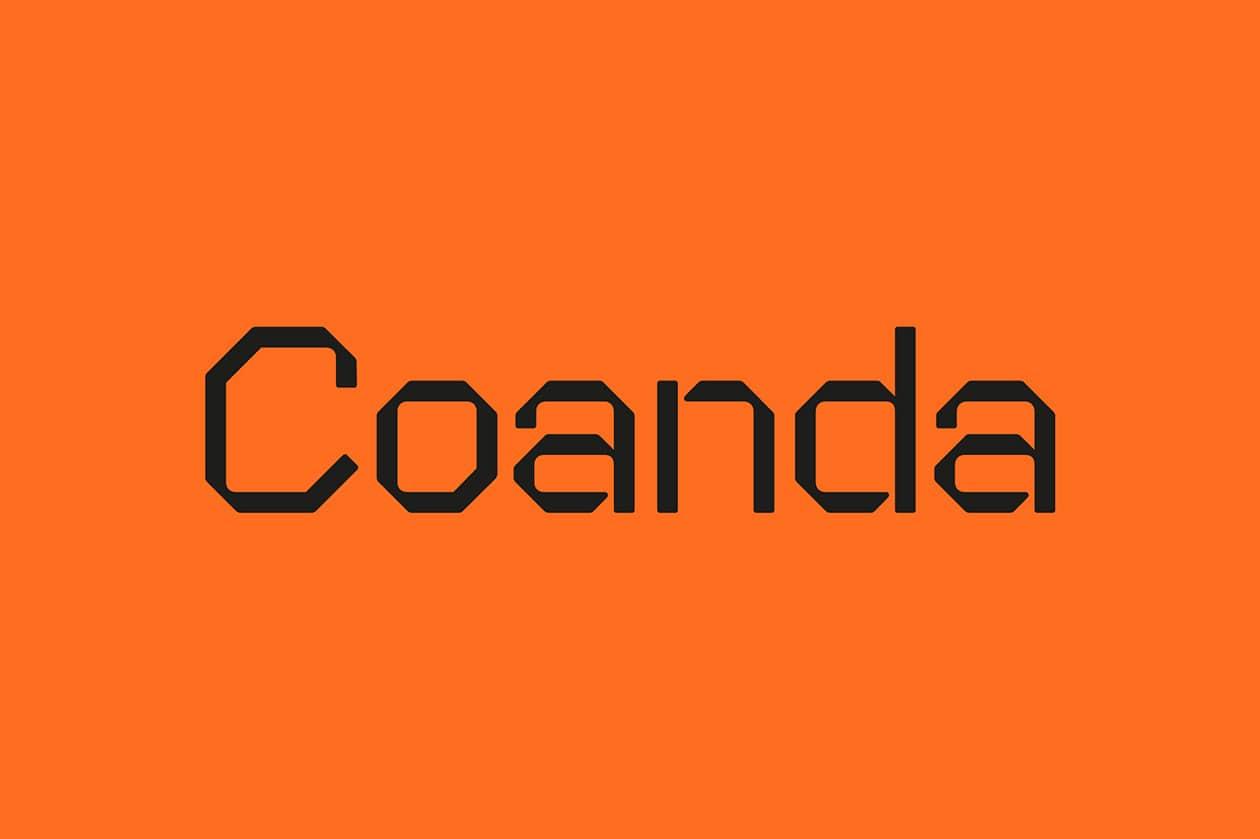 Coanda Font